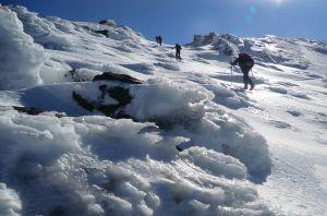 Foto 13, ascensión al Veleta con nieve y hielo