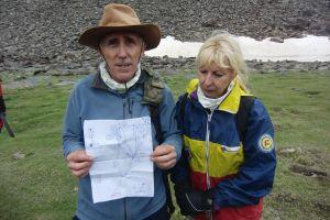 Foto 15, el prestigioso guía Manuel manzanares y su mujer Carmen
